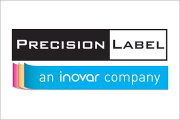 precision label logo