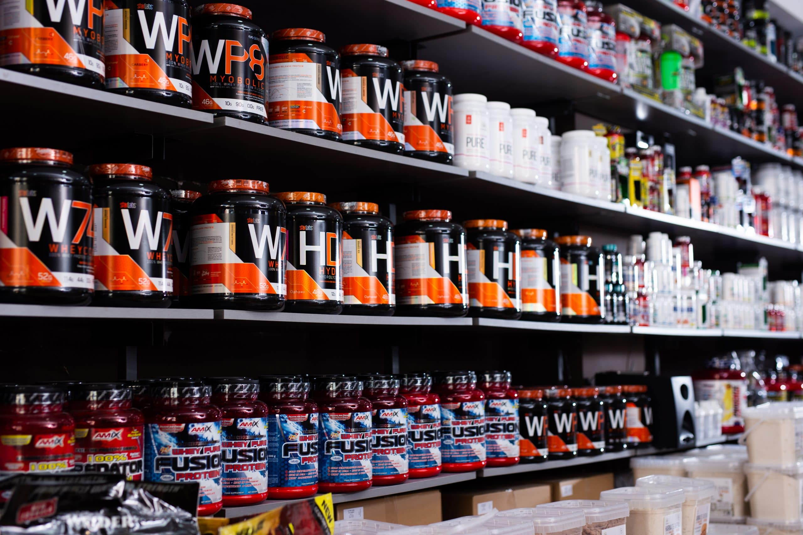 sports nutrition nutraceutical labels